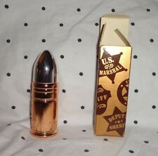 Deputy Marshall Sheriff Avon Collectible Bottle Avon After Shave Decanter Glass