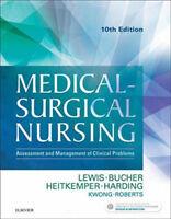 Read Description Medical-Surgical Nursing 10th Edition Lewis Bucher B&W Version