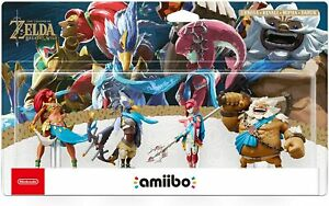 Amiibo The Legend of Zelda Breath of the Wild Collection The Champions