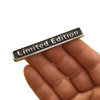 3D Car Sticker Plating Metal LIMITED EDITION Logo Emblem Badge Decal Accessories