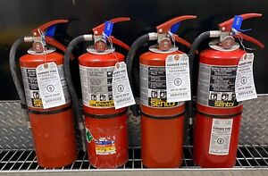 FIRE EXTINGUISHER 10lb ABC ( Scratch & Dent set of 4