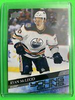 2020-21 Upper Deck Series 1 Young Guns #231 Ryan McLeod Edmonton Oilers RC