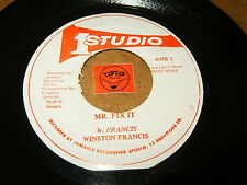 WINSTON FRANCIS - MR.FIX IT - FIXING / LISTEN - REGGAE SKA ROCKSTEADY POPCORN
