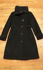 Talula Babaton by Aritzia Wool Cashmere Blend Long Coat Black Size Small