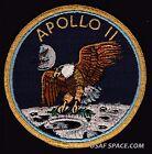 SCARCE APOLLO 11  NASA - GRUMMAN VINTAGE ORIGINAL NASA CLOTH BACK SPACE PATCH