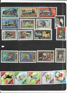 HUNGARY 1972. SELECTION OF 20. VERY FINE USED. AS PER SCAN