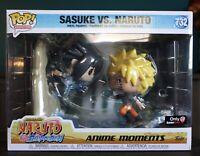 Funko Pop! Animation Sasuke Vs Naruto Anime Moments #732 GameStop Only - In hand