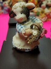 Mary Moo Moos Figurine - Flour Girl