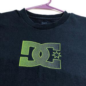 DC Shoes Boy's Short Sleeve T Shirt XL Logo Spellout Crewneck Skater