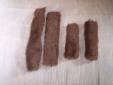 New-Horse Halter Tubes-Acrylic Fleece-Prevents Halter Rubs-Brown
