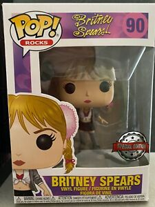 Britney Spears FUNKO POP- Baby One More Time(SPECIAL EDITION & BOX/RARE,VAULTED)