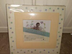 Baby Memory Book Keepsake Girl or Boy Scrapbook First Years NEW