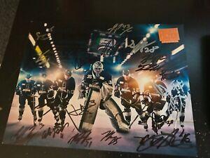 Idaho Steelheads Hockey Team Poster SIGNED LOOK! w/Approx 20 Signatures