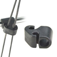 """Archery Cable Slide 3/8"""" Compound Bow Cable Bar Arrow String Separating Parts"""