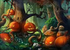 Halloween Pumpkins Magic Forest 500 Pcs Jigsaw Puzzle Adult Kid Educational Toy