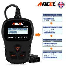 Universal Car Engine Fault Code Reader OBD2 Scanner Reset Diagnostic Tool UK