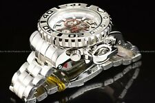 "Invicta 70mm Full Sea Hunter High Polished Silver ""Ice Berg"" Swiss Chrome Watch"