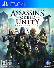 Used Assassin's Creed Unity SONY PS4 PLAYSTATION JAPANESE IMPORT JAPANZON