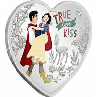 2020 Disney Love Snow White 1oz Silver Coin