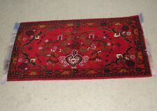 Afghanistan Turkoman Handmade Knotted Wool Area Rug Carpet Persian Afghani Kuchi