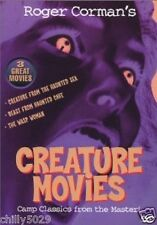 Creature Movies (DVD, 2002) New 3 Great Movies in One Disc