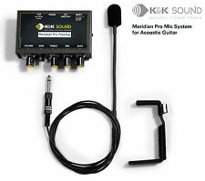 K&K Meridian Pro guitar microphone system with preamp - free postage