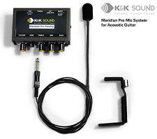 Sistema De Micrófono K&K Meridian Pro Guitarra Con Preamp-Envío Gratis