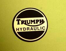 1973-1982 Triumph Trident, Tiger, Bonneville T140, OIF T150 OEM Disc Brake Decal