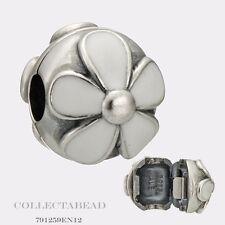 Authentic Pandora Sterling Silver Enamel Darling Daisies Clip 791259EN12