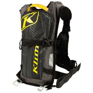 KLIM QUENCH PAK GRAY MX OFF-ROAD ADVENTURE HYDRATION BACK PACK LUGGAGE BAG