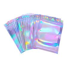 20/40X Aluminum Foil Zip Lock Bags Reclosable Candy Pouch Packaging Supplies USA