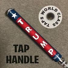 new President Donald Trump draft beer Tap Handle marker Maga Republican Usa flag