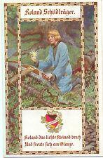 Roland Schildträger, Bund d. dt. in Böhmen, Karte Nr. 156, 1913