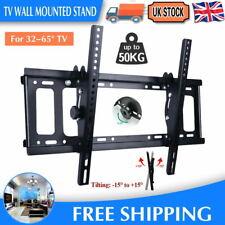 TILT TV WALL BRACKET MOUNT FOR 32 37 40 42 46 50 52 55 60 65INCH SONY LG Samsung