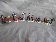 Vintage Christmas Village Accessories ~ Lot of 6 Characters