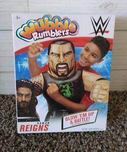 WUBBLE RUMBLERS WWE Roman Reigns Wrestling Inflatable Figure Blow 'Em Up Battle