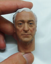 Custom made 1/6 Scale Michael Caine Head Sculpt For Hot Toys Body Alfred Kitbash