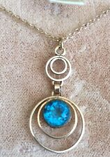 Simmons vintage pendant and necklace