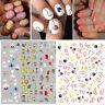 3D Nagel Aufkleber Nail Stickers Self-adhesive Flower Decals Nail Art Dekoration