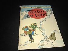 Hergé Les Aventures de Tintin -  Tintin Au Tibet - Illustrated comic 1960 French