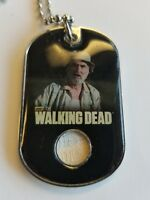 TWD AMC The Walking Dead Costume Relic Dog Tag Dale Season 2 CR9
