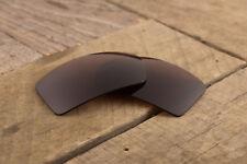 Dark Brown Polarized Sunglass Lenses for Oakley Eyepatch 2 - Tungsten Amber Tint