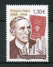 French Andorra 2018 MNH Pompeu Fabra Engineer Linguist 1v Set People Stamps