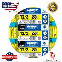 8/3 NM-B (Non-Metallic) ROMEX Simpull (100): Amazon.com