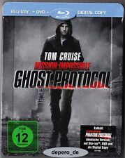 """MISSION IMPOSSIBLE: PHANTOM PROTOKOLL"" - Tom Cruise - BLU RAY STEELBOOK - OVP"