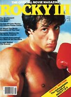 Souvenirmagazin aus USA | 1982 | ROCKY III | Sylvester Stallone, Talia Shire