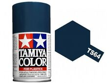 Tamiya TS-64 Dark Mica Blue Spray Paint Can  3.35 oz. (100ml) 85064
