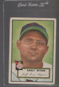 1952 TOPPS  baseball card # 277 EARLY WYNN