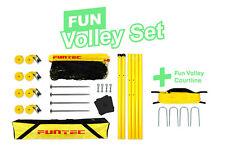 Funtec Fun Volley Set + Courtline Bundle 8,5 m