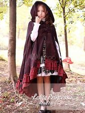 Sweet Ruffled Asymmetrical Trim Lolita Coats Jackets